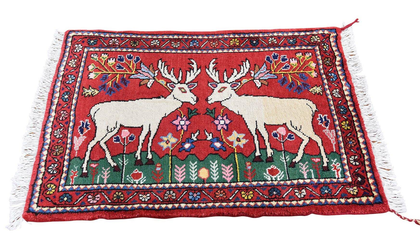 Noe New Pictorial With Deer Tribal Hand