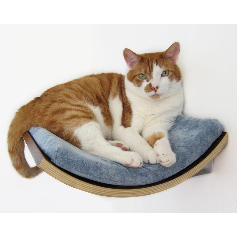 cat wall mounted perch