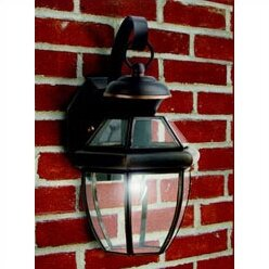 Washington Mews 1-Light Incandescent Outdoor Wall Lantern (Set of 6)