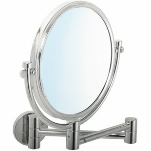 Winston Porter Moresi Round Double-Sided Makeup/Shaving Mirror