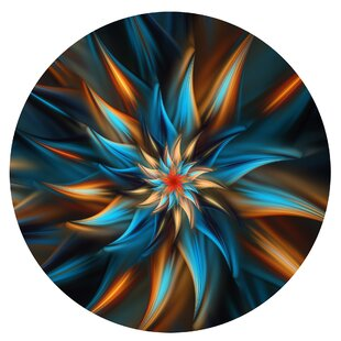 Ketterman Swirl Round Wall Décor By The Holiday Aisle