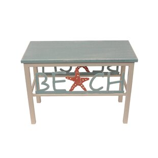 Innis Beach/Starfish Wood Bench by Highland Dunes