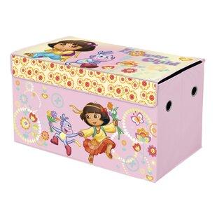 Idea Nuova Dora the Explorer Nickelodeon Collapsible Storage Trunk