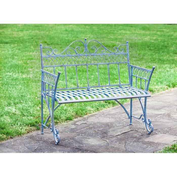 Admirable Trudy Victorian Metal Garden Bench Machost Co Dining Chair Design Ideas Machostcouk