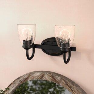 Savings Sheila 2-Light Vanity Light ByLaurel Foundry Modern Farmhouse
