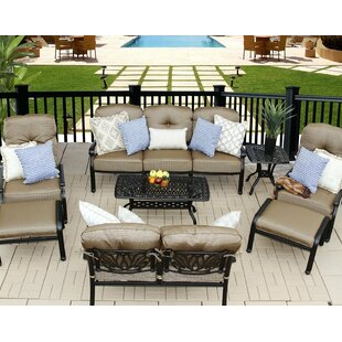 Kristy 8 Piece Sofa Set with Cushions