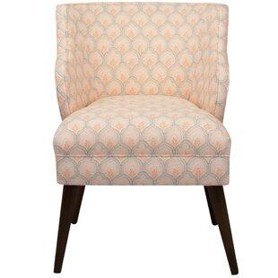 Bungalow Rose Palmeri Slipper Chair