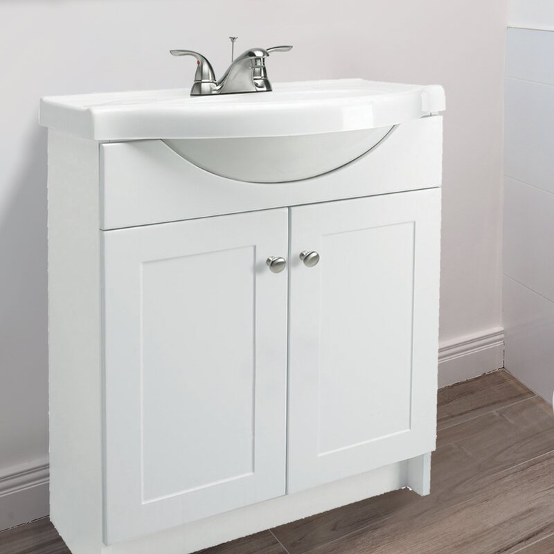 Design House Euro Style 25 Quot Single Bathroom Vanity Set