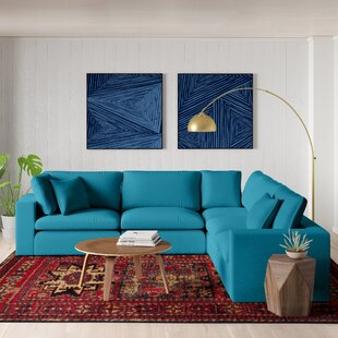 Modern Contemporary Harper Modular Sectional Sofa