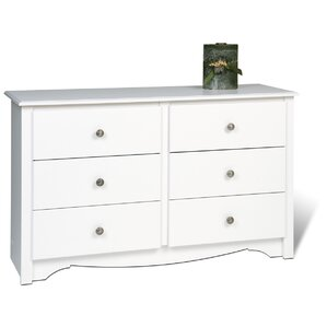Sybil Condo 6 Drawer Double Dresser by Andover Mills