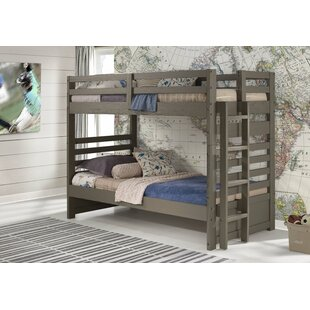 Mccarter Twin over Twin Bunk Bed with Drawers by Harriet Bee