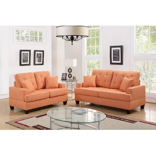 Ebern Designs Draughn 2 Piece Living Room Set