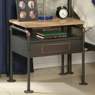 Coughlin 1 Drawer Nightstand