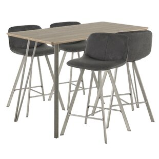 Modern Contemporary Swigart 5 Piece Pub Table Set Allmodern