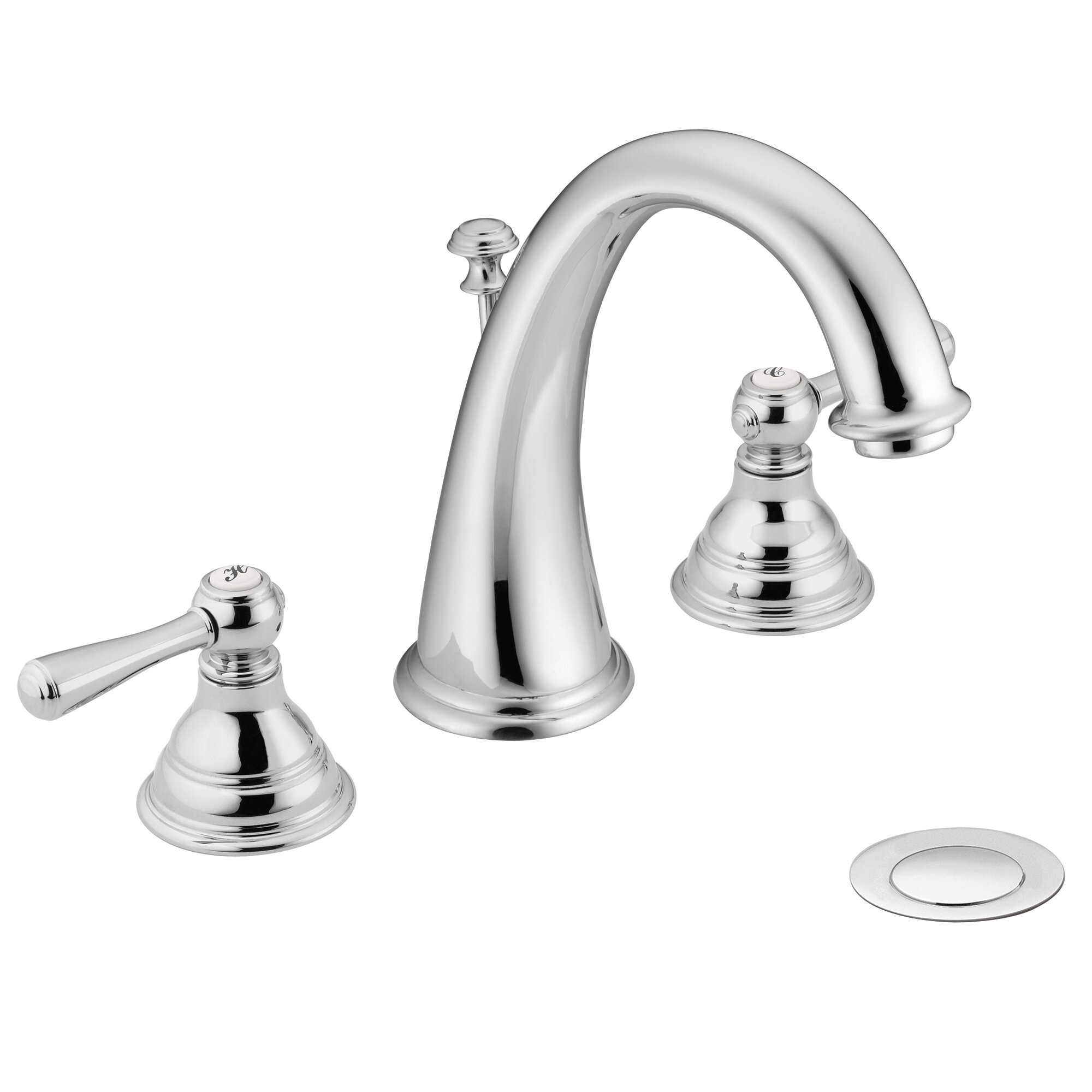 T6125bn Wr Moen Kingsley Widespread Bathroom Faucet With Drain Assembly Reviews Wayfair