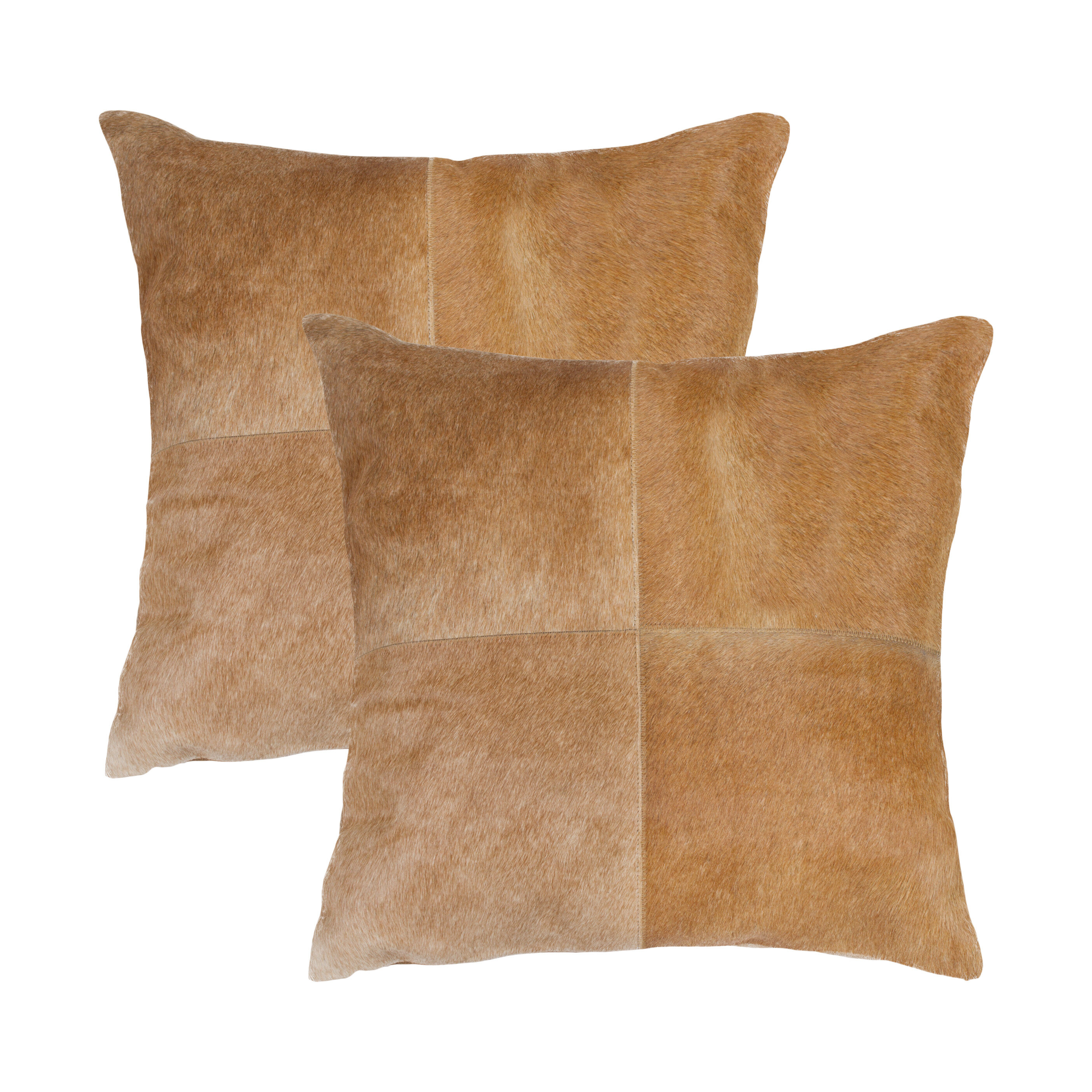 Foundry Select Warnke Square Leather Pillow Cover And Insert Wayfair