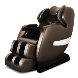 A600 S-Track Reclining Adjustable Width Heated Full Body Massage Chair By Latitude Run