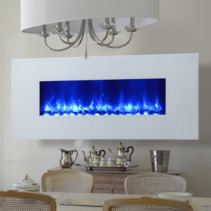 Gallaudet Led Wall Mounted Electric Fireplace
