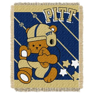 Online Reviews Collegiate Pittsburgh Baby Blanket By Northwest Co.