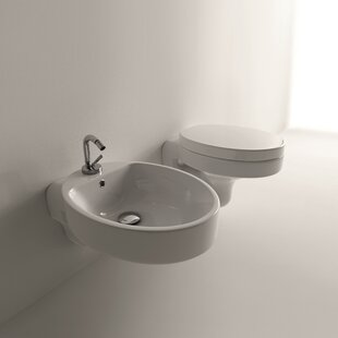 WS Bath Collections Cento Dual Flush Toil..