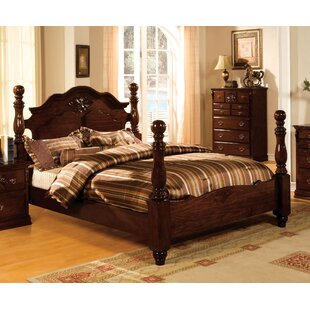 Darby Home Co Edyth Four Poster Bed