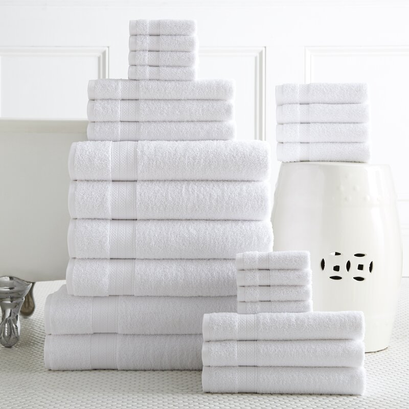 24 Piece Towel Set