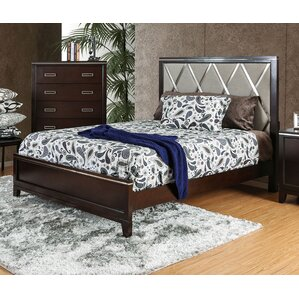 Lonny Contemporary Panel Bed by Latitu..