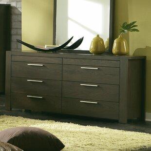 Brayden Studio Sirena 8 Drawer Double Dresser