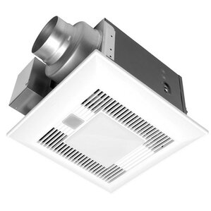 WhisperLite™ 80 CFM Energy Star Bathroom Fan with Light  sc 1 st  Wayfair & Ductless Bathroom Fans Youu0027ll Love | Wayfair azcodes.com