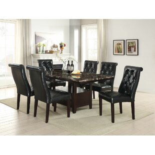 Montanez 7 Piece Dining Set DarHome Co