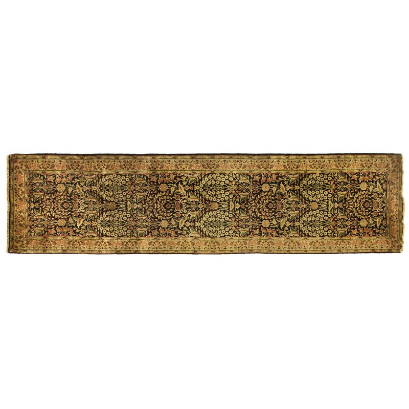 Exquisite Rugs Millefleur Hand Knotted