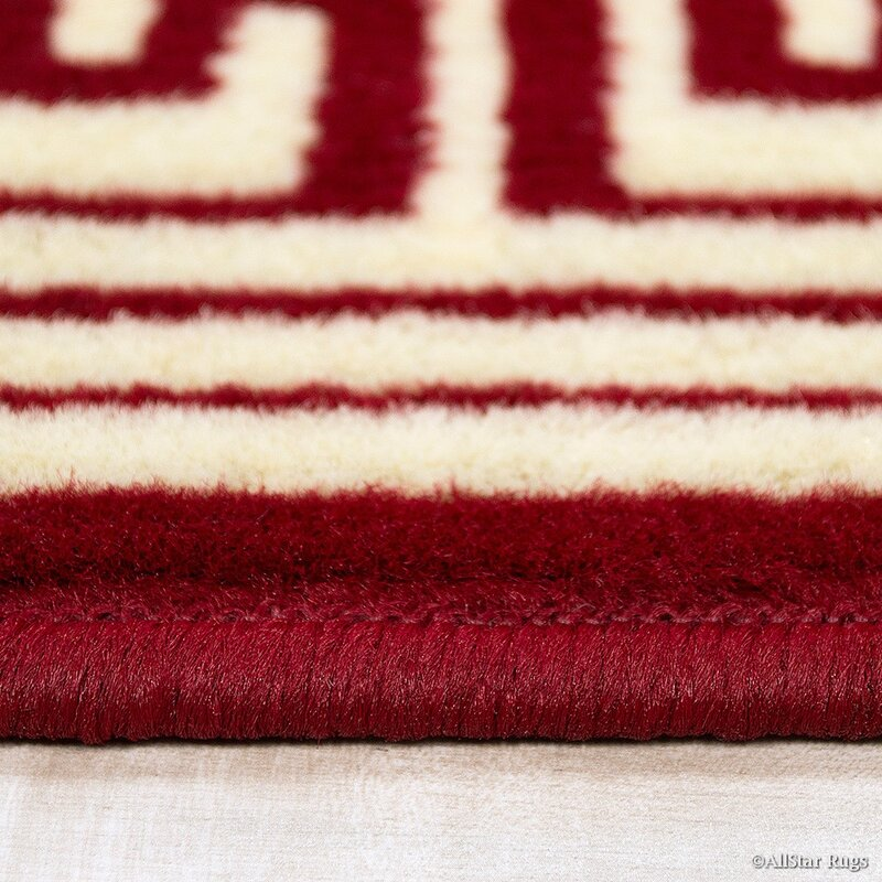 Popular AllStar Rugs Red/Cream Area Rug & Reviews | Wayfair CX11