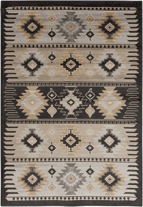 loon peak belvedere barley/safari tan area rug & reviews   wayfair