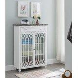 Gardella Freestanding 2 Door Accent Cabinet by Charlton Home®