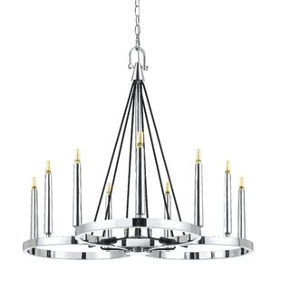 Orren Ellis Cedric 9-Light Chandelier