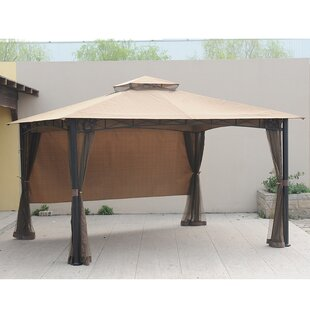 Replacement Canopy for 10' W x 12' D Smith and Hawken San Rafael Gazebo by Sunjoy