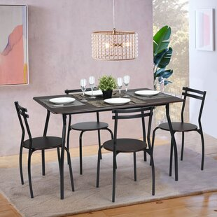 Tarleton 5 Piece Dining Set