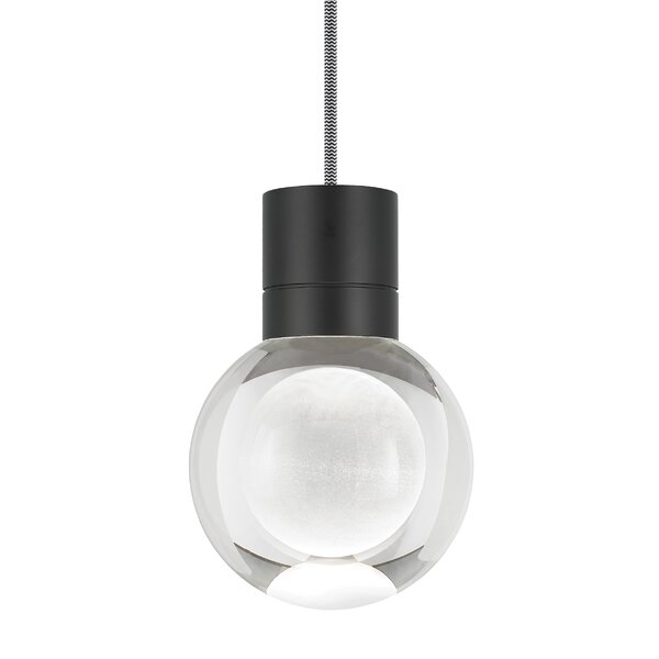 Tech Lighting Mina 1 Light Single Globe Led Pendant With