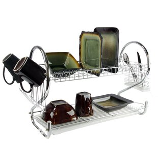 3 Piece Shelf Dish Rack Set