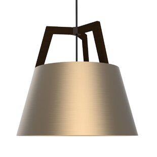 Cerno Imber 1-Light LED Cone Pendant