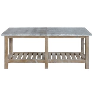 Marcoux Wood Console Table by Gracie Oaks