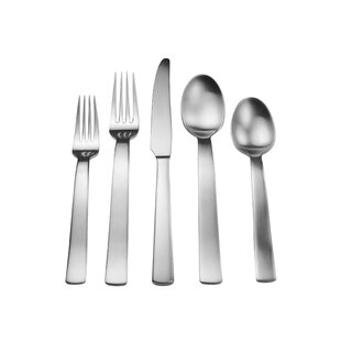 Splendide Davos 20 Piece Flatware Set, Service for 4