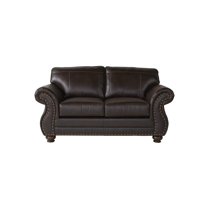Tariq 69″ Round Arms Loveseat