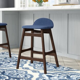 Grimmer 24 Bar Stool (Set Of 2) by Ivy Bronx Great Reviews