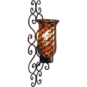 Metal Wall Sconce candle sconces you'll love | wayfair