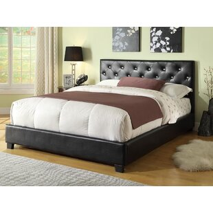 Mary Upholstered Standard Bed by Wildon Home