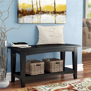 Find for Bel Air Wood Storage Bench By Alcott Hill