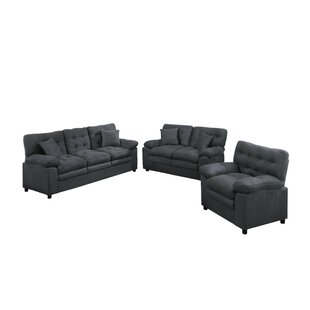 Find for Foell 3 Piece Living Room Set by Red Barrel Studio Reviews (2019) & Buyer's Guide