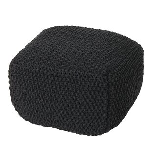 Compare & Buy Gioia Mabe Knitted Square Pouf By Ebern Designs
