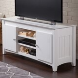 Simas Solid Wood TV Stand for TVs up to 58 by Breakwater Bay